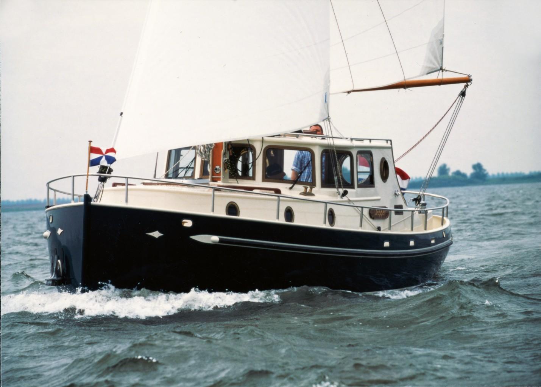 Goeree 870 Motor Yacht Motor Sailer Olivier Van Meer Design