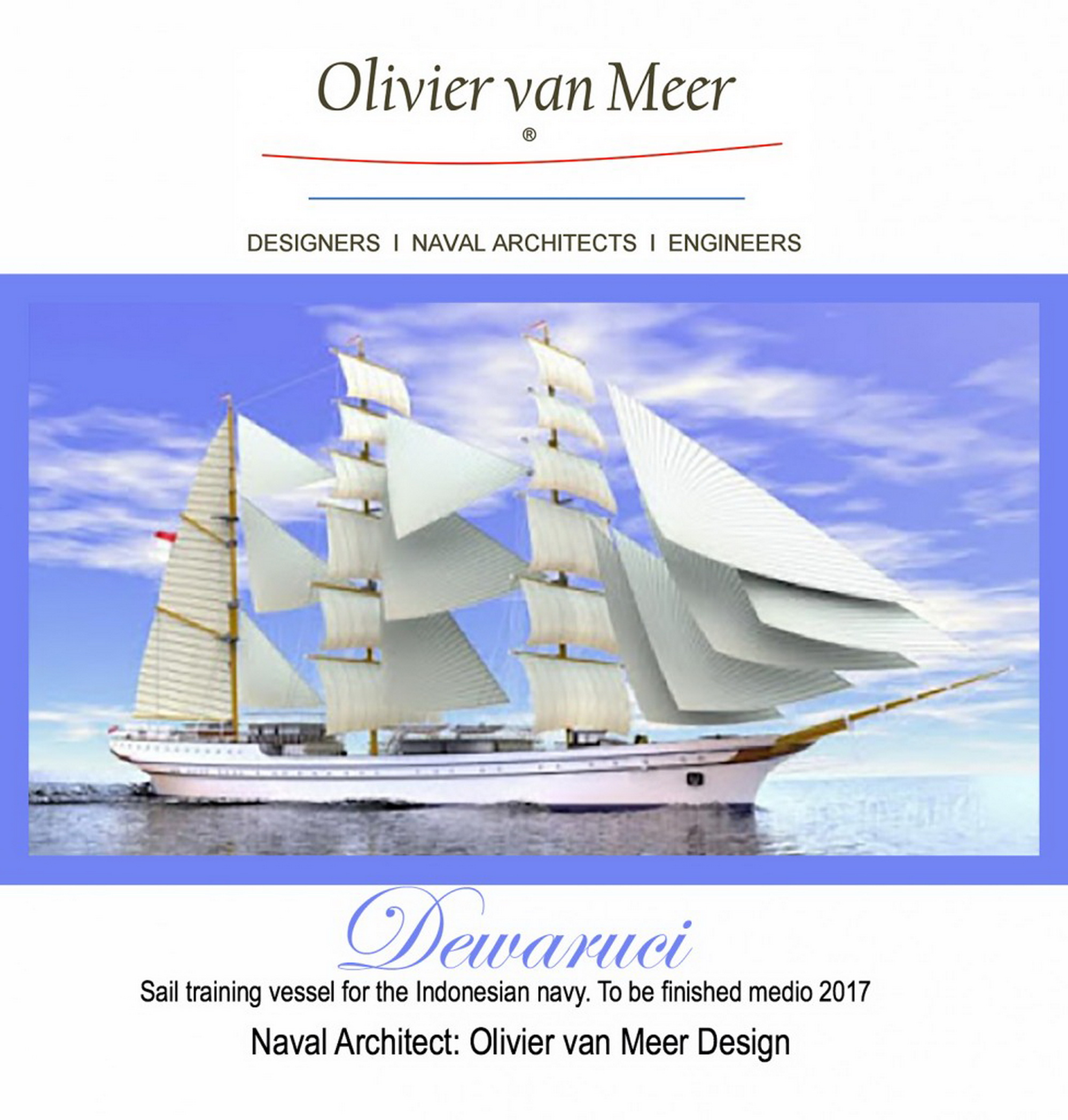 Keel laying ceremony 3000m2 sail training ship olivier van for Motor age training coupon code