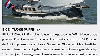 The new Puffin 37 in the media