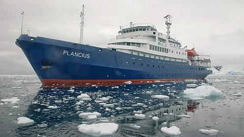 89m expedition cruise ship 'Plancius'   conversion